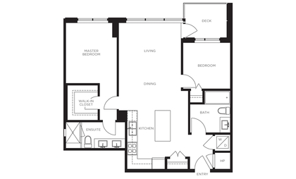 floor-plan at #1104 - 3487 Binning Road, University VW, Vancouver West