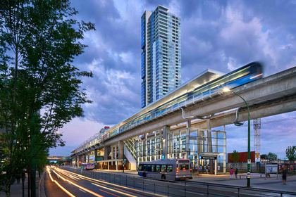 skytrain at #1400 - 4830 Bennett Street, Metrotown, Burnaby South