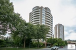 building-exterior at #1400 - 4830 Bennett Street, Metrotown, Burnaby South