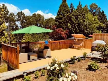 deck-2 at 13505 Crestview Drive, Bolivar Heights, North Surrey