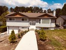 exterior-front-revised at 13505 Crestview Drive, Bolivar Heights, North Surrey