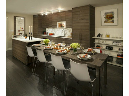 dining-room at #706 - 13388 104th Avenue, Whalley, North Surrey
