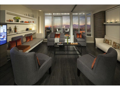 living-room at #706 - 13388 104th Avenue, Whalley, North Surrey