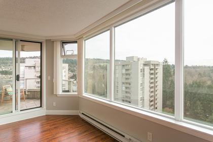 living-room-view at #1201 - 7321 Halifax Street, Simon Fraser Univer., Burnaby North