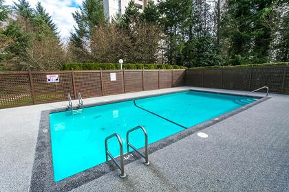 outdoor-swimming-pool at #1201 - 7321 Halifax Street, Simon Fraser Univer., Burnaby North