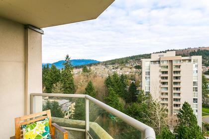 view-cover-balcony-mountains at #1201 - 7321 Halifax Street, Simon Fraser Univer., Burnaby North