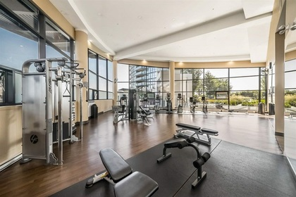gym at #1805 - 2225 Holdom Avenue, Central BN, Burnaby North