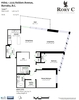 floorplan at #1805 - 2225 Holdom Avenue, Central BN, Burnaby North