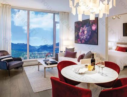 living-dining-rm at #3803 - 518 Clarke Road, Coquitlam West, Coquitlam