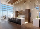 amenity-skylounge-kitchen at #3803 - 518 Clarke Road, Coquitlam West, Coquitlam