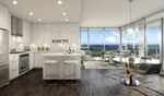 open-plan-living-dining-kitchen at #3803 - 518 Clarke Road, Coquitlam West, Coquitlam