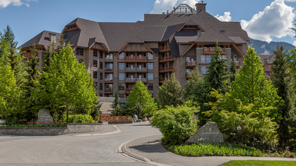 Four-Seasons-Exterior at #720 - 4591 Blackcomb Way, Benchlands, Whistler