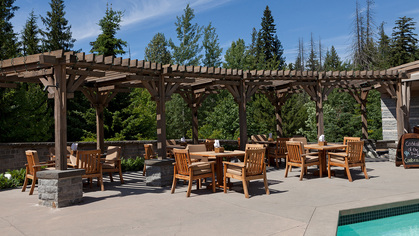 patio-off-sp at #720 - 4591 Blackcomb Way, Benchlands, Whistler