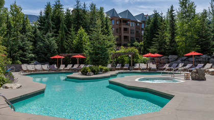 swimming-pool at #720 - 4591 Blackcomb Way, Benchlands, Whistler
