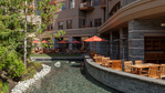 patio at #720 - 4591 Blackcomb Way, Benchlands, Whistler