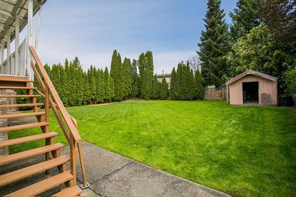 backyard-main at 4952 208a Street, Langley City, Langley
