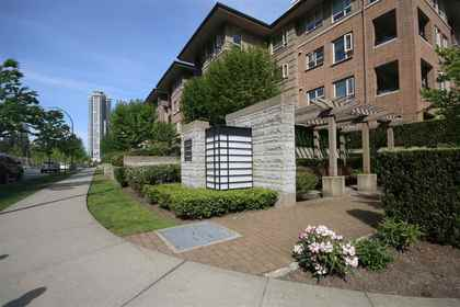 building-exterior-corner at #305 - 3105 Lincoln Avenue, New Horizons, Coquitlam