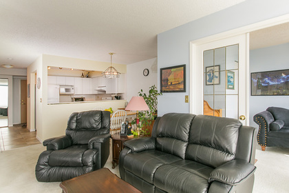 living--dining-room at #1703 - 7321 Halifax Street, Simon Fraser Univer., Burnaby North