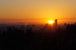 view-sunset at #1703 - 7321 Halifax Street, Simon Fraser Univer., Burnaby North