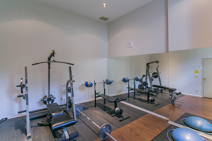 gym-2 at #1606 - 7321 Halifax Street, Simon Fraser Univer., Burnaby North