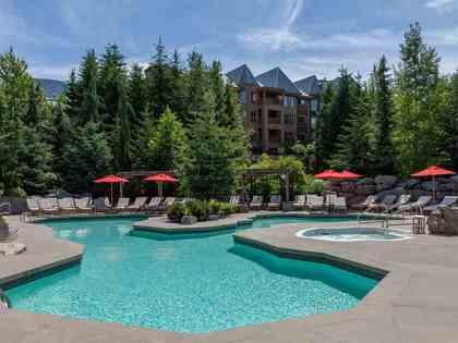 pool at #745 - 4591 Blackcomb Way, Benchlands, Whistler