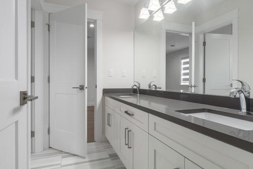 bathroom at 438 Montgomery Street, Central Coquitlam, Coquitlam