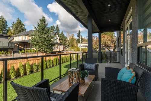 deck at 438 Montgomery Street, Central Coquitlam, Coquitlam