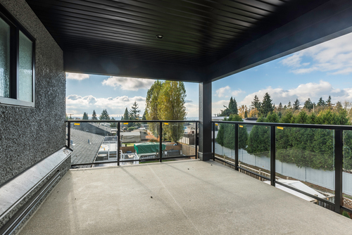 masterbedroom-deck at 438 Montgomery Street, Central Coquitlam, Coquitlam