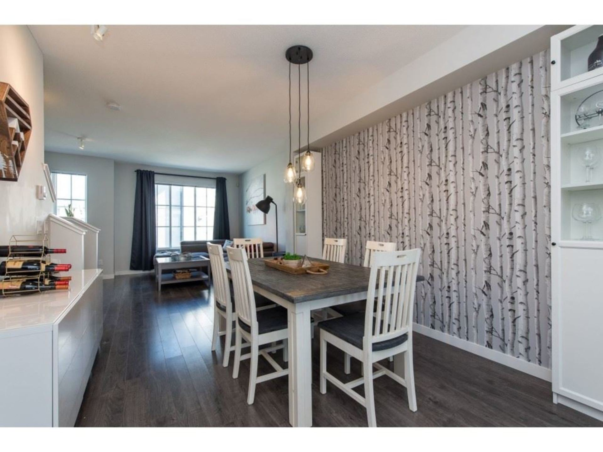 Dining Area, open concept main floor at 94 - 30989 Westridge Place, Abbotsford West, Abbotsford