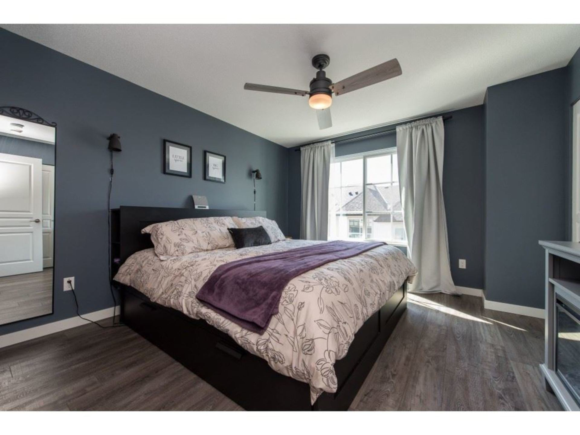 Master Bedroom. Super spacious and more than enough room for a King bed at 94 - 30989 Westridge Place, Abbotsford West, Abbotsford