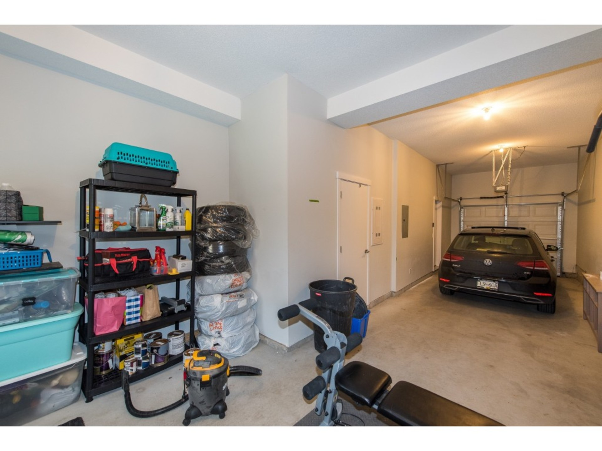 Oversized/height Tandem Garage with plenty of storage and direct access to private yard and patio area at 94 - 30989 Westridge Place, Abbotsford West, Abbotsford