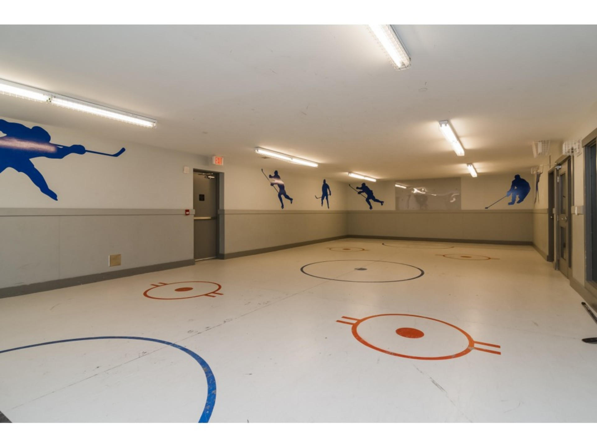 Indoor Floor Hockey at the Clubhouse at 94 - 30989 Westridge Place, Abbotsford West, Abbotsford