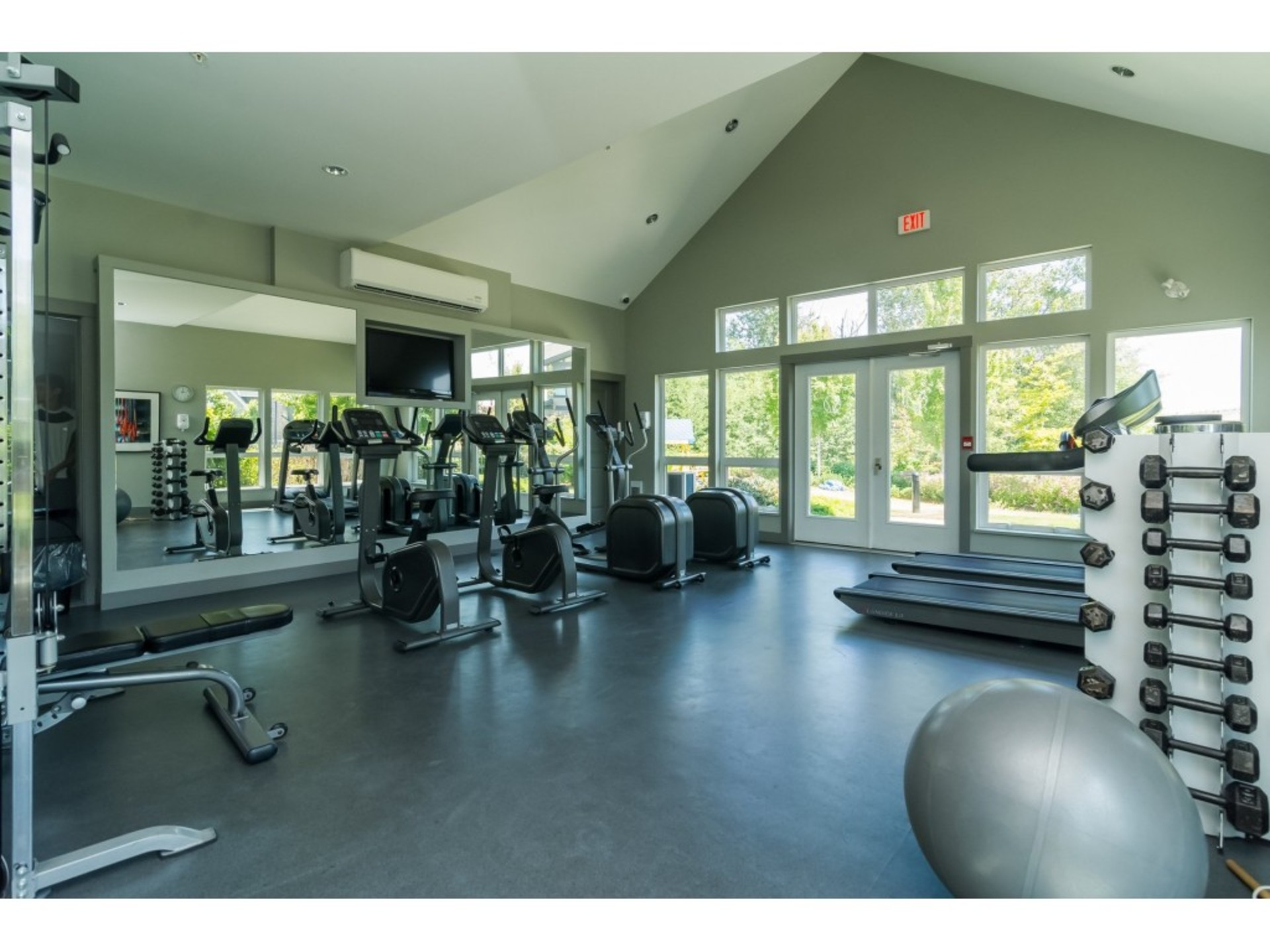 Gym at the Clubhouse at 94 - 30989 Westridge Place, Abbotsford West, Abbotsford