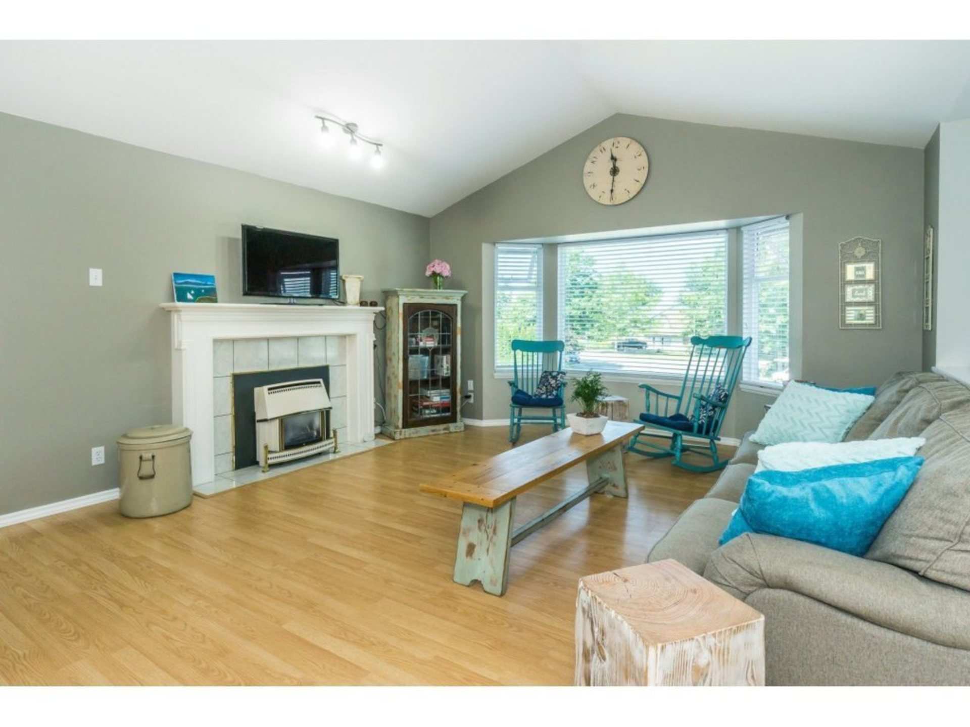 Living Room looking toward front of house. at 21662 50a Avenue, Murrayville, Langley