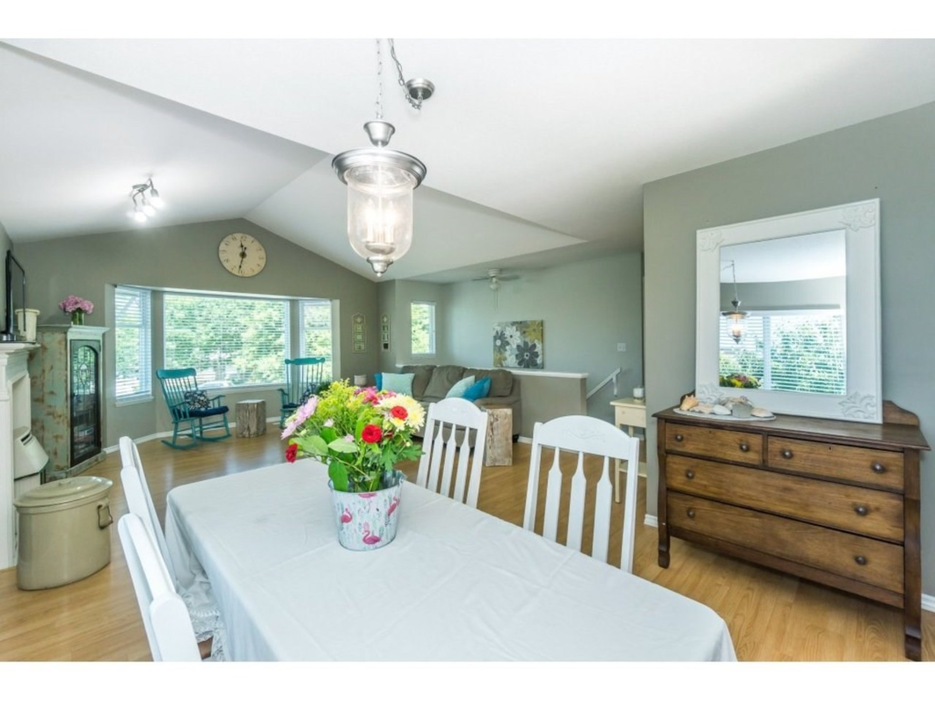 Dining Area at 21662 50a Avenue, Murrayville, Langley