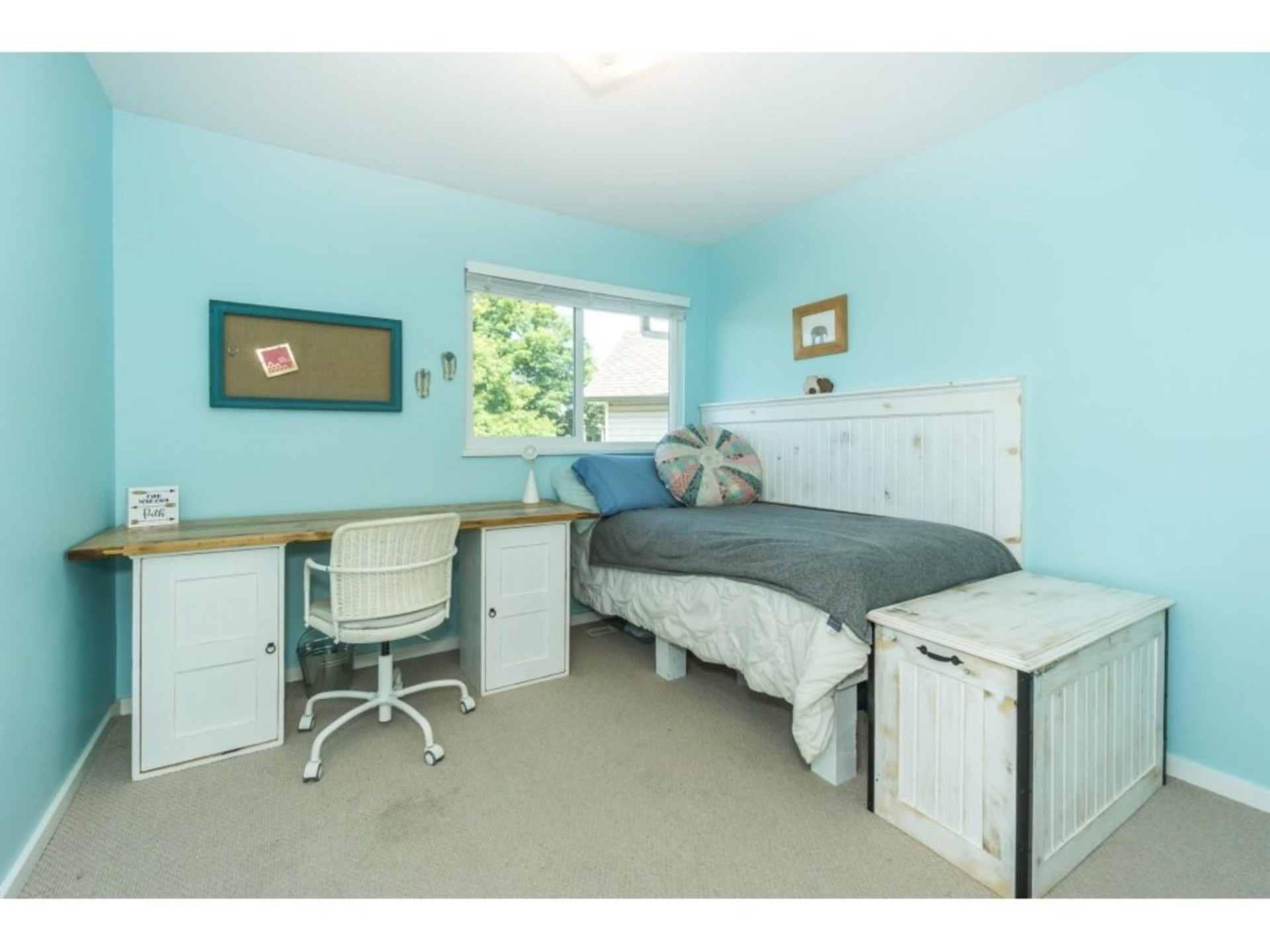 Bedroom at 21662 50a Avenue, Murrayville, Langley
