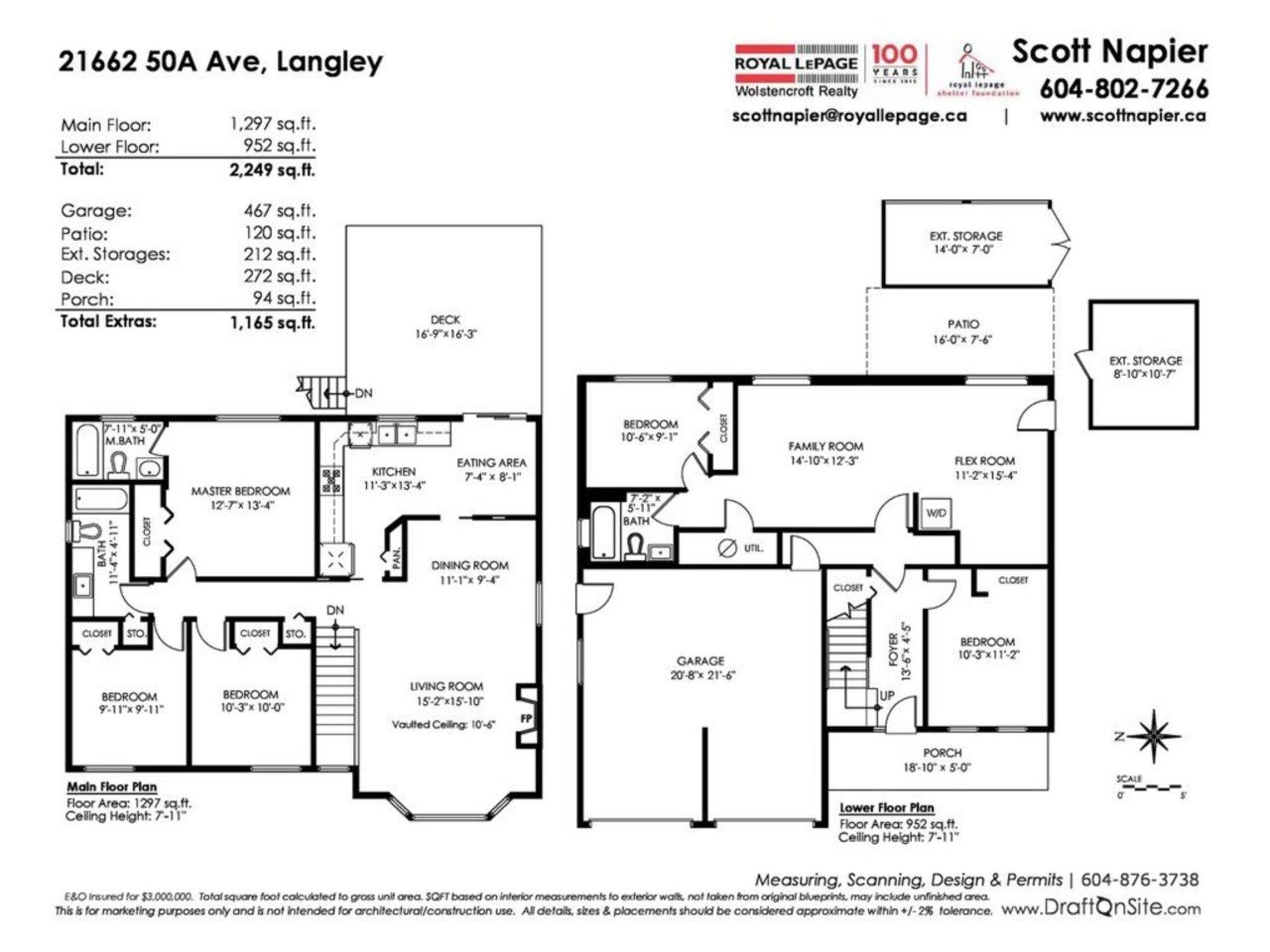 Floor Plan at 21662 50a Avenue, Murrayville, Langley