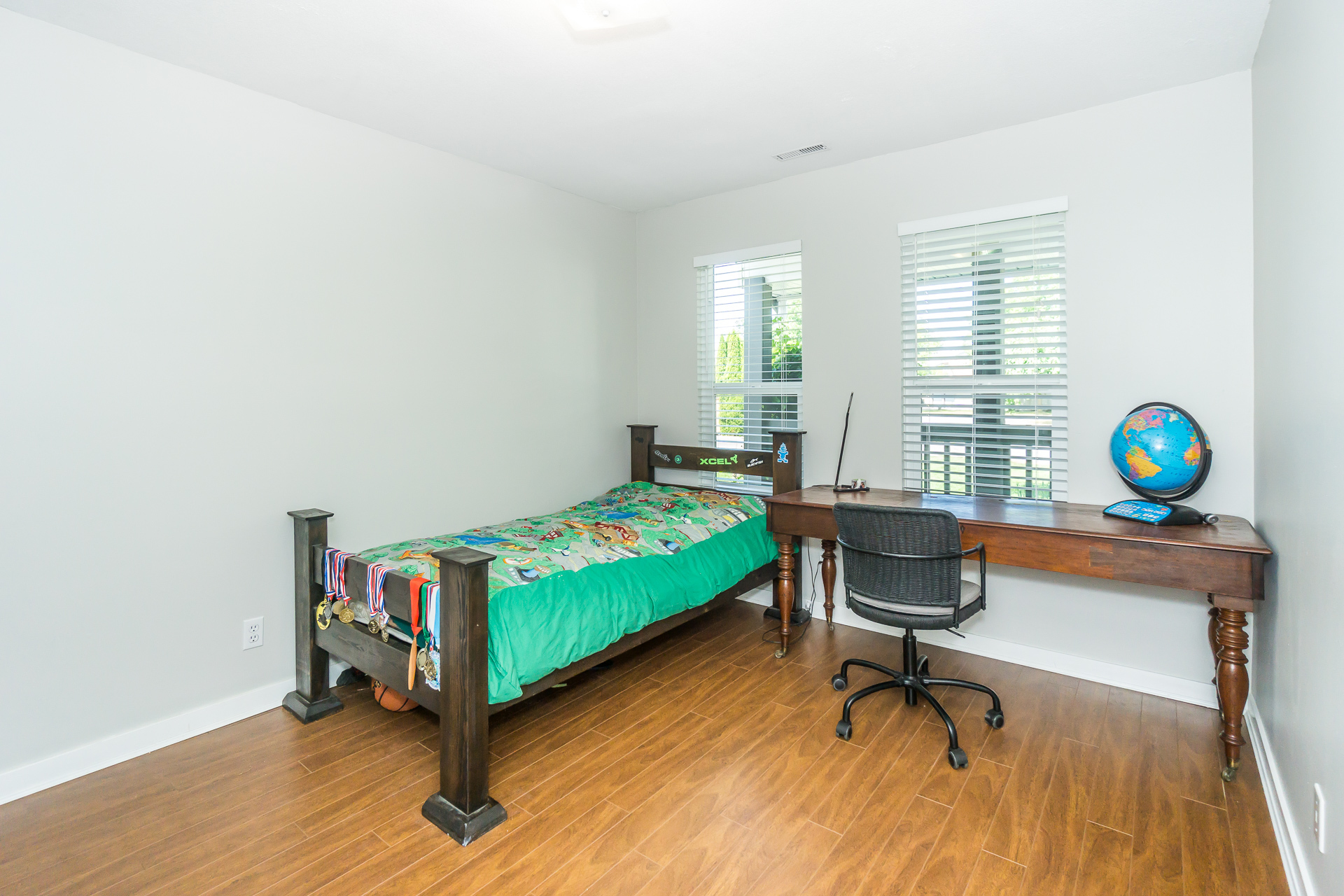 Downstairs Bedroom at 21662 50a Avenue, Murrayville, Langley