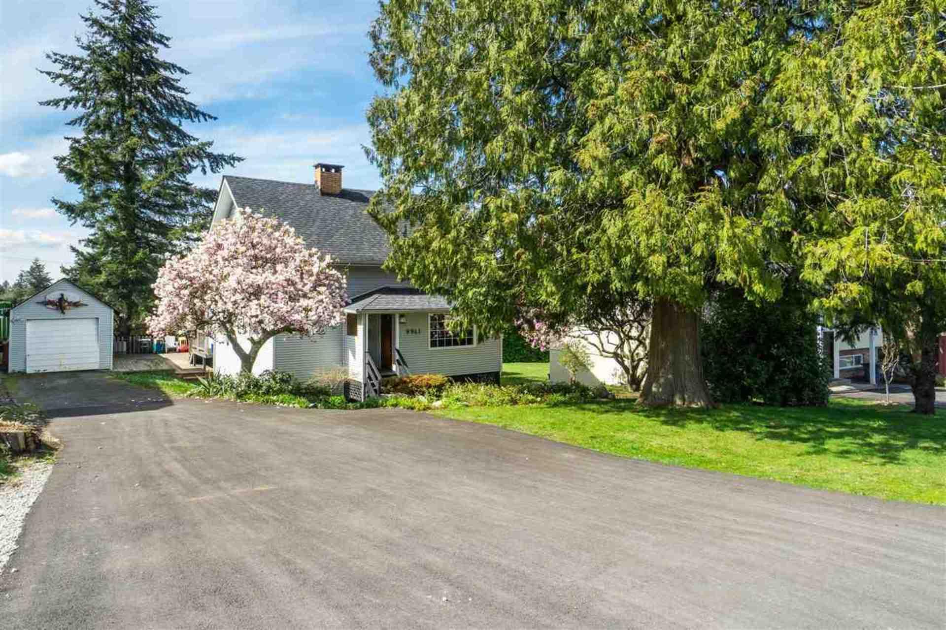 Exterior - Front Driveway at 9941 121a Street, Cedar Hills, North Surrey