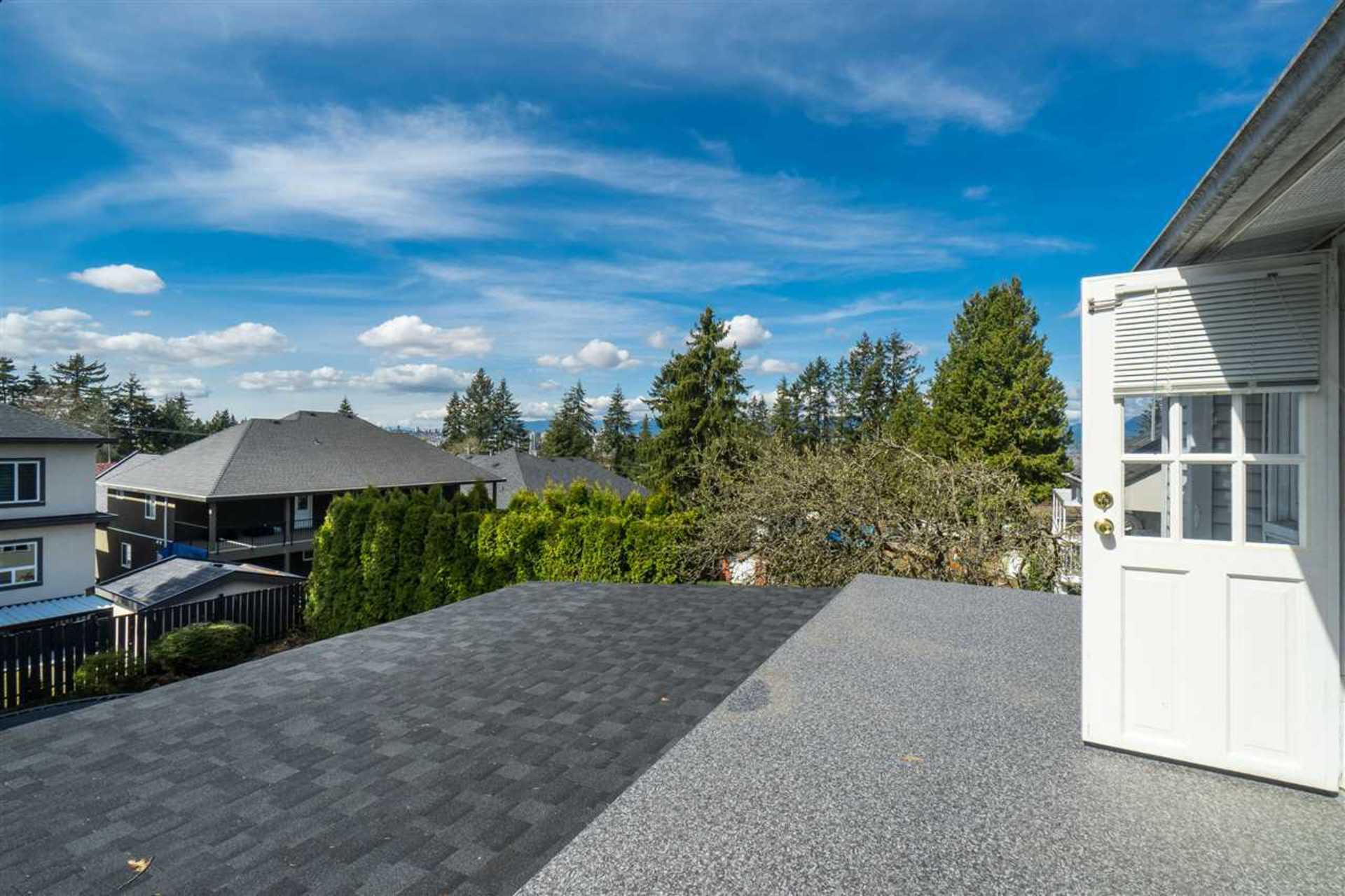 View from second level sundeck at 9941 121a Street, Cedar Hills, North Surrey