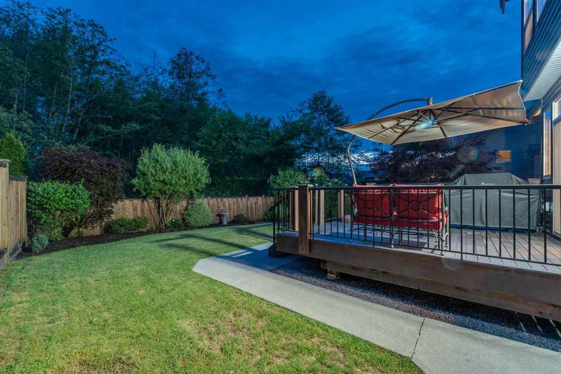 back-yard at 24604 Kimola Drive, Albion, Maple Ridge