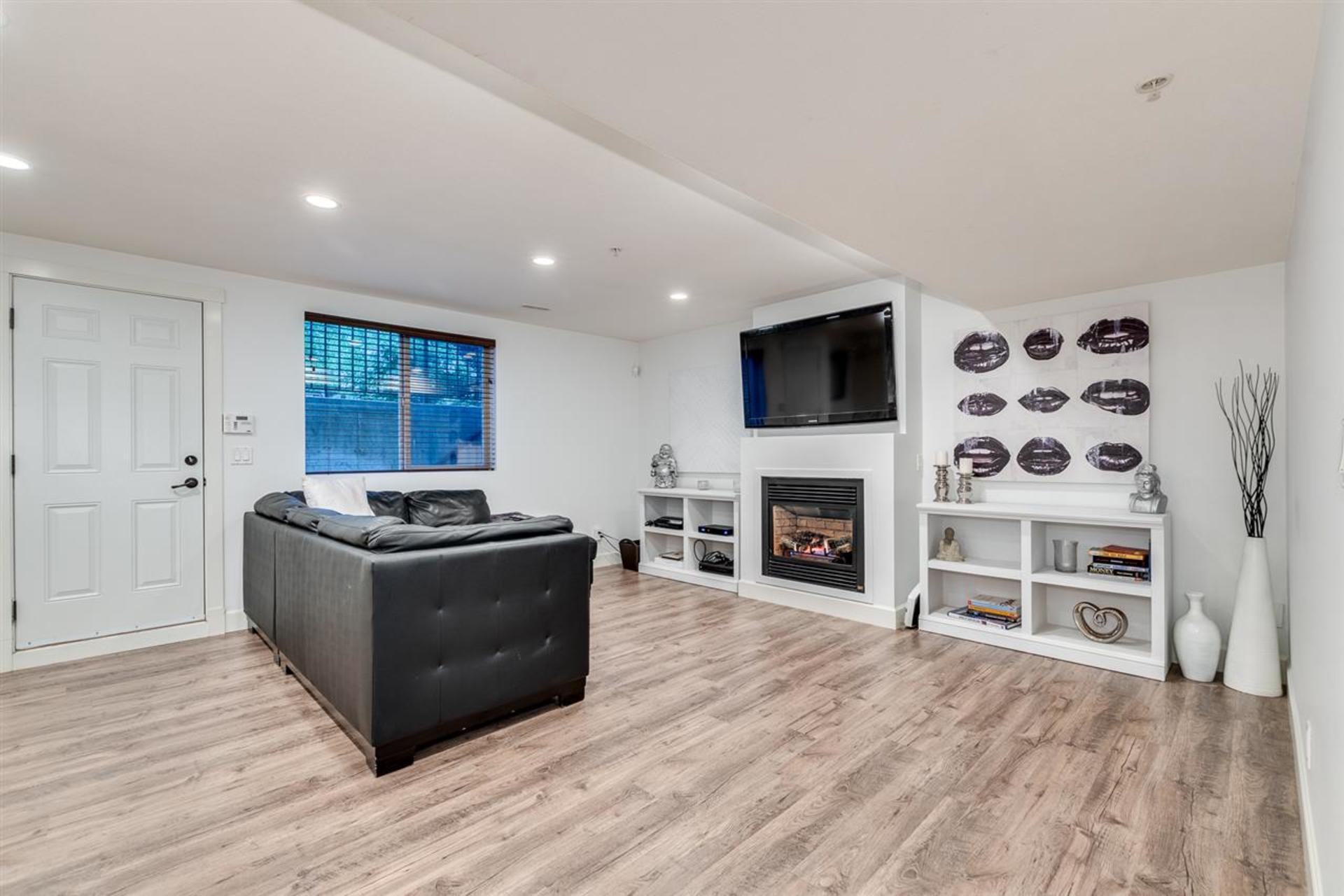 basement at 24604 Kimola Drive, Albion, Maple Ridge