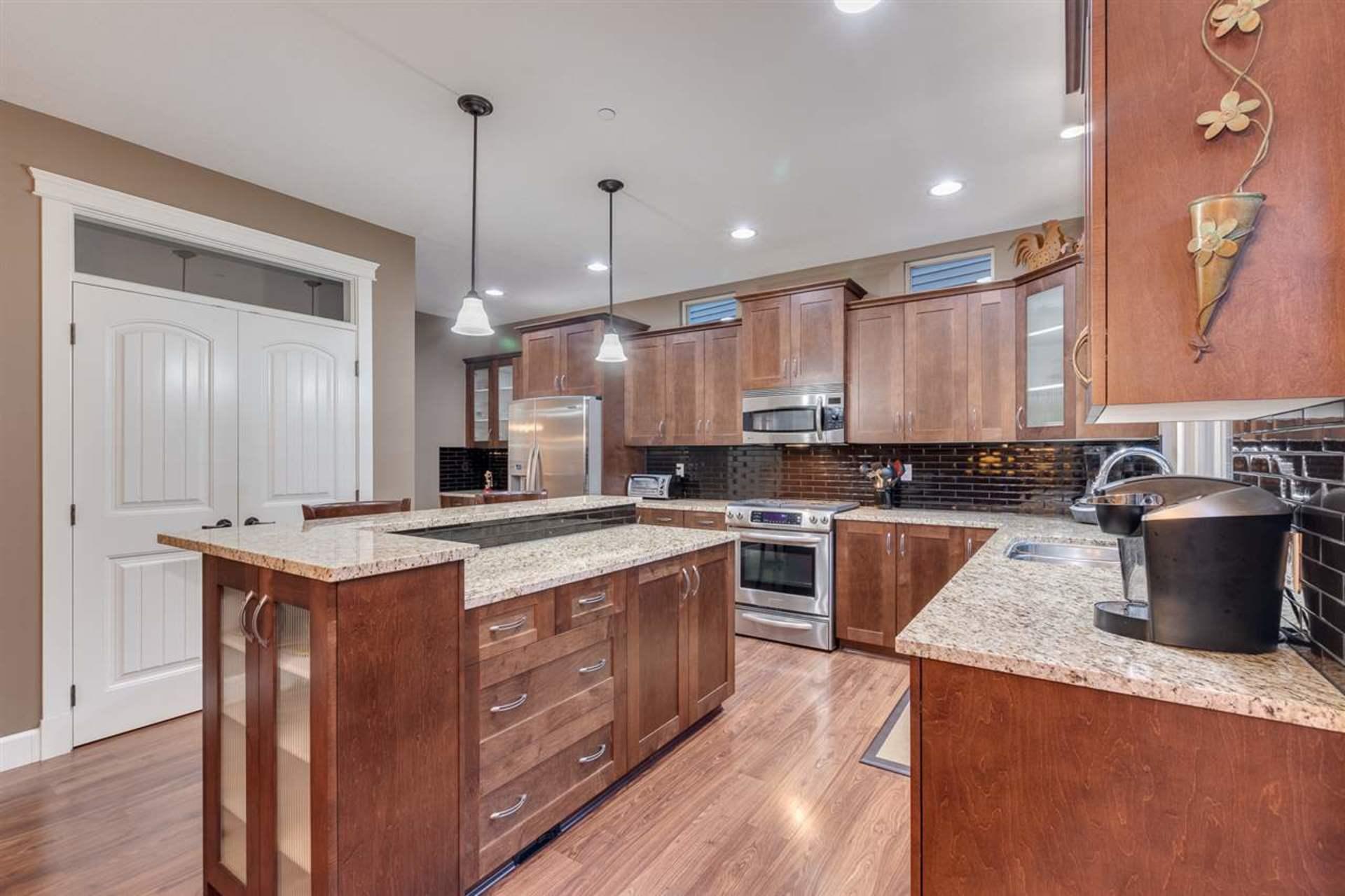 kitchen at 24604 Kimola Drive, Albion, Maple Ridge