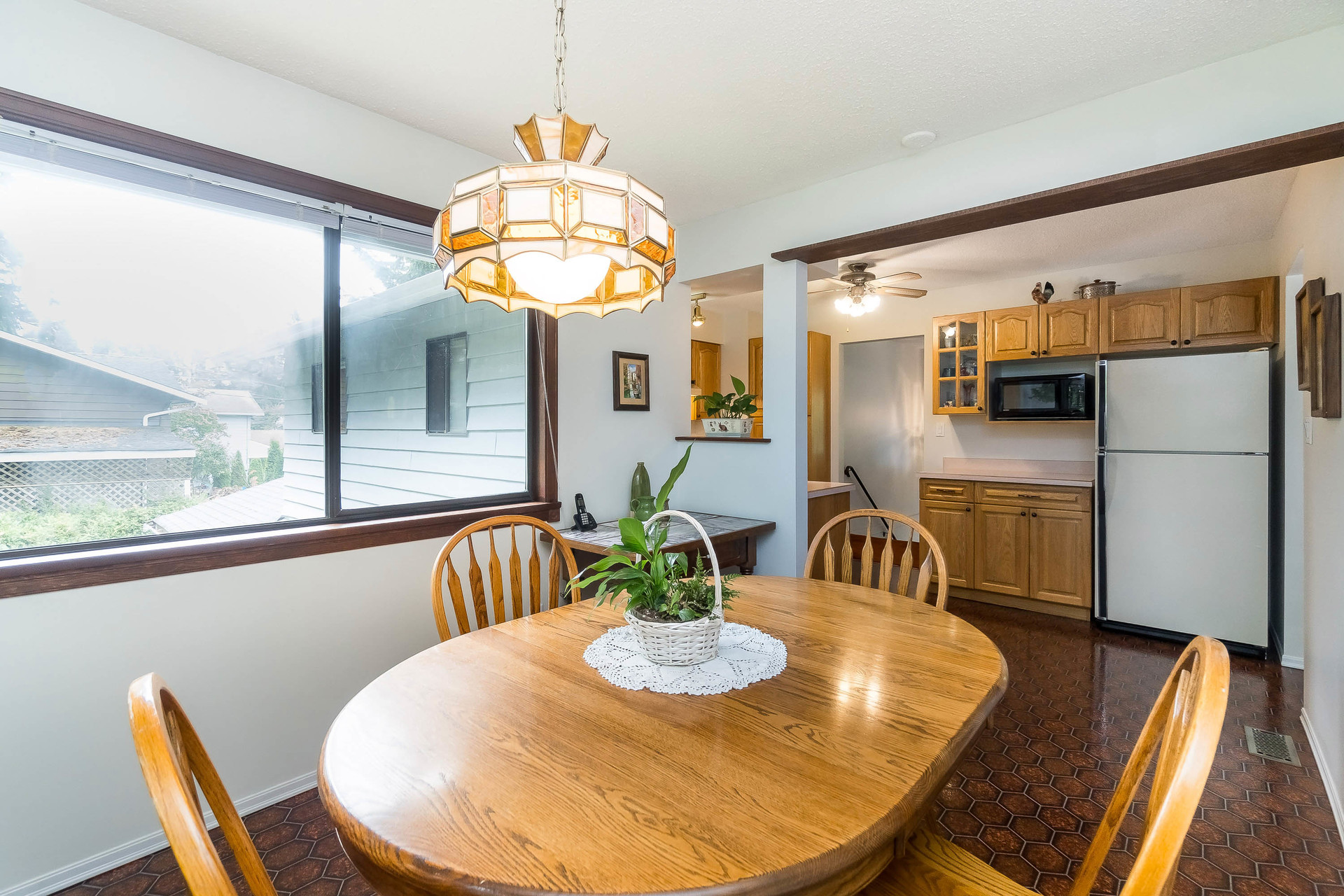 Eating Area at 4062 207a Street, Brookswood Langley, Langley
