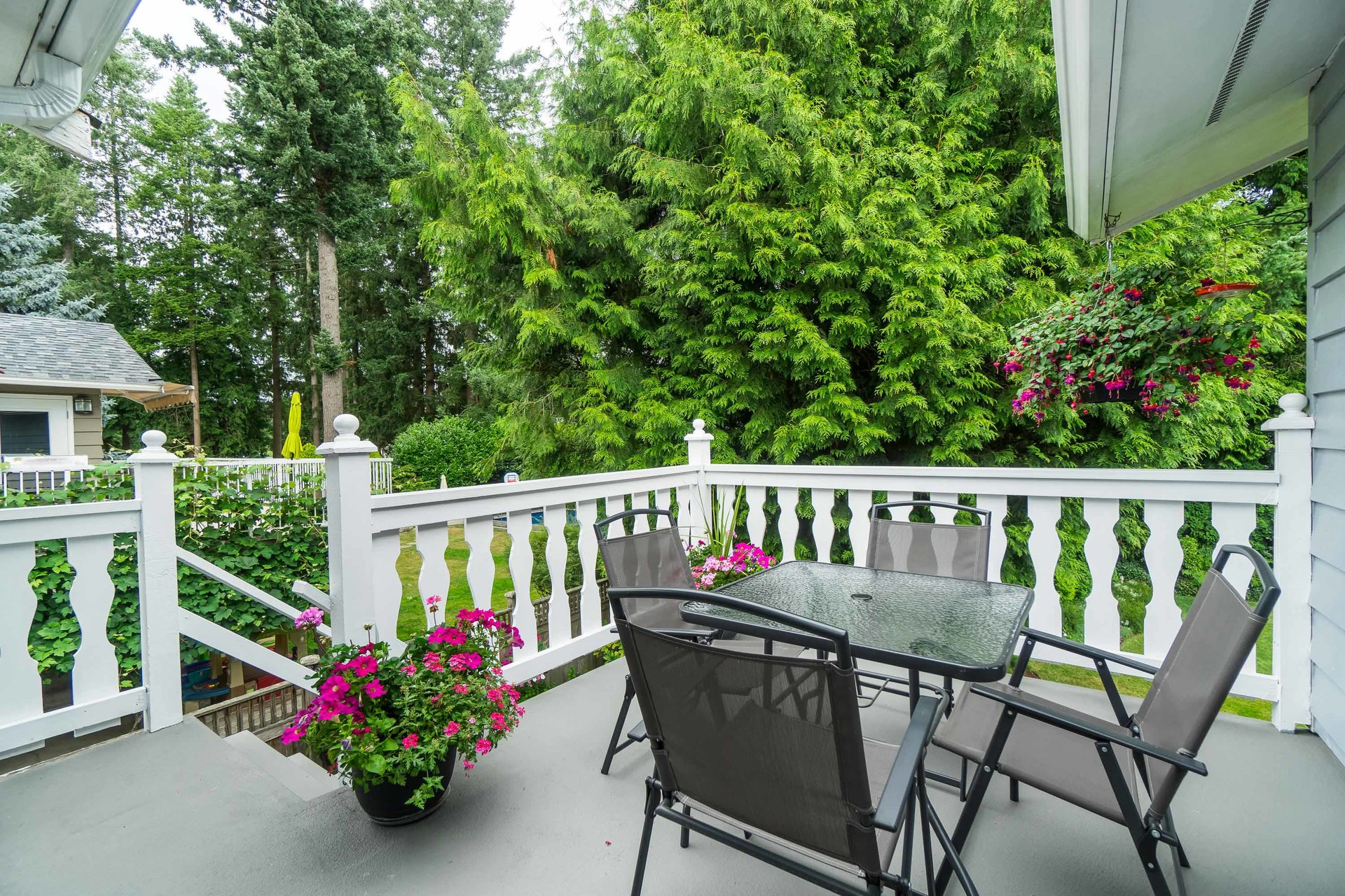 Back Sundeck at 4062 207a Street, Brookswood Langley, Langley