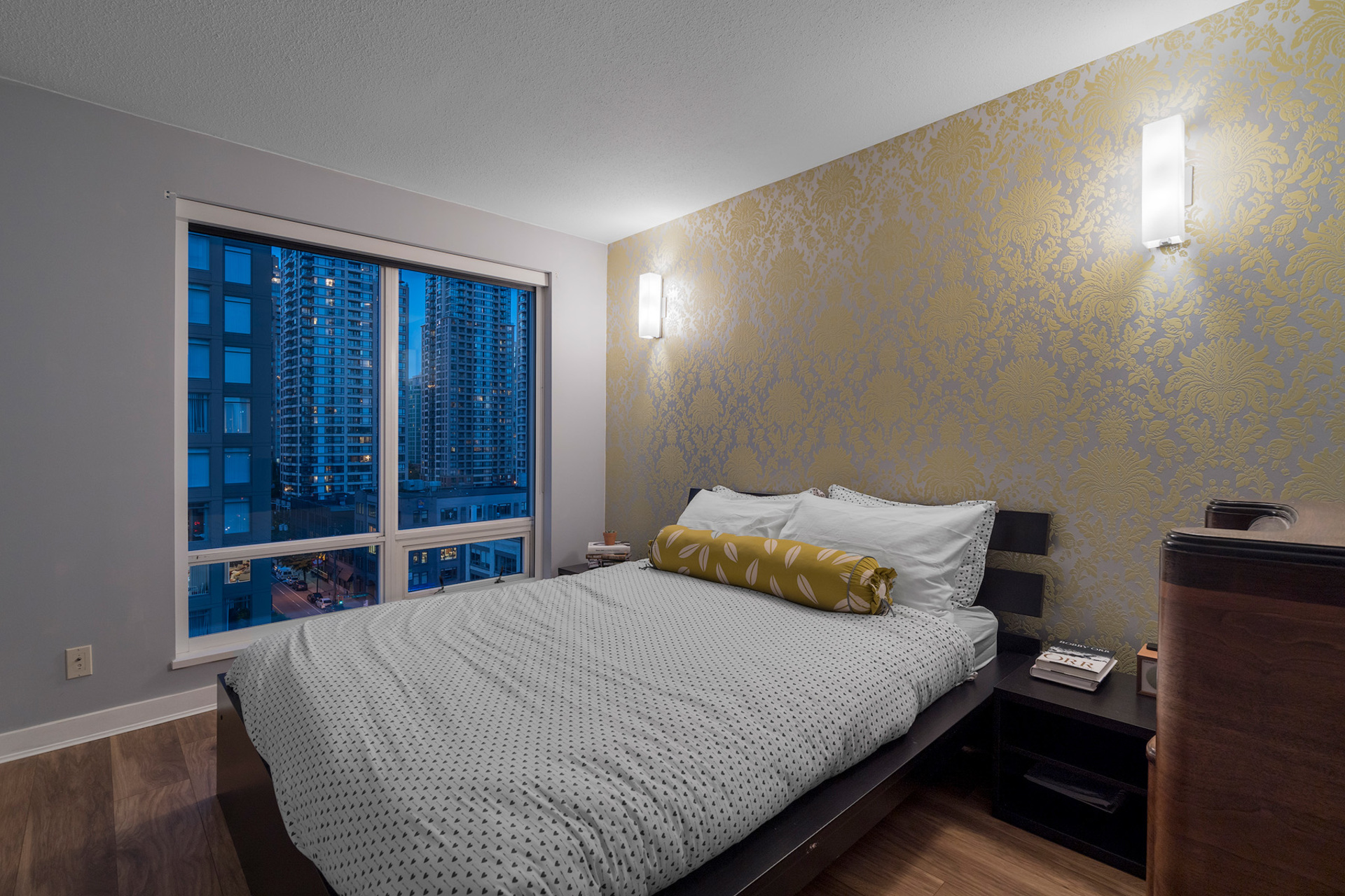 Bedroom at 1005 - 1055 Homer Street, Yaletown, Vancouver West