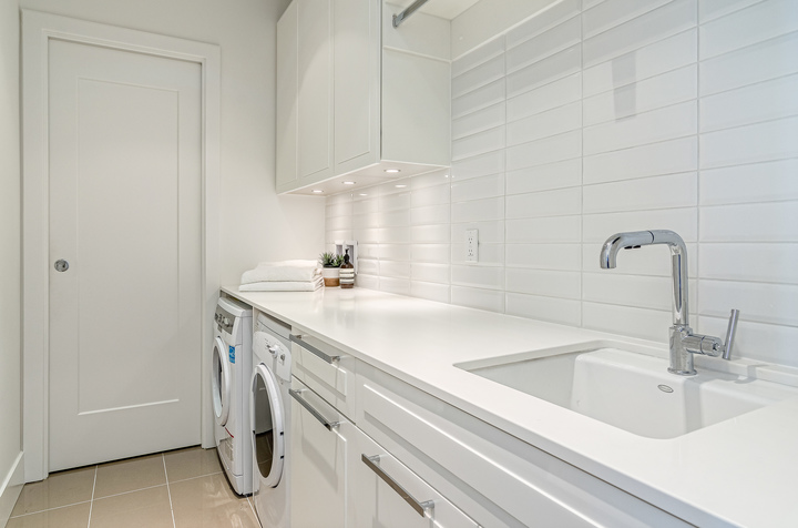 Laundry Room at 1104 - 1501 Vidal Street, White Rock, South Surrey White Rock
