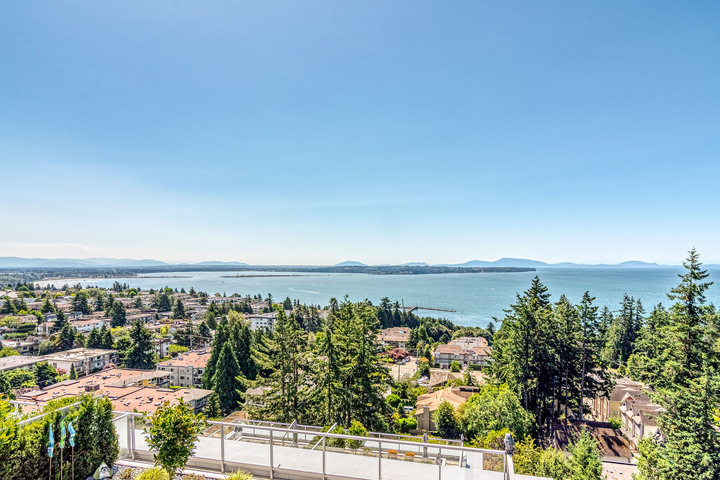 Panoramic Ocean and Mountain View  at 1104 - 1501 Vidal Street, White Rock, South Surrey White Rock