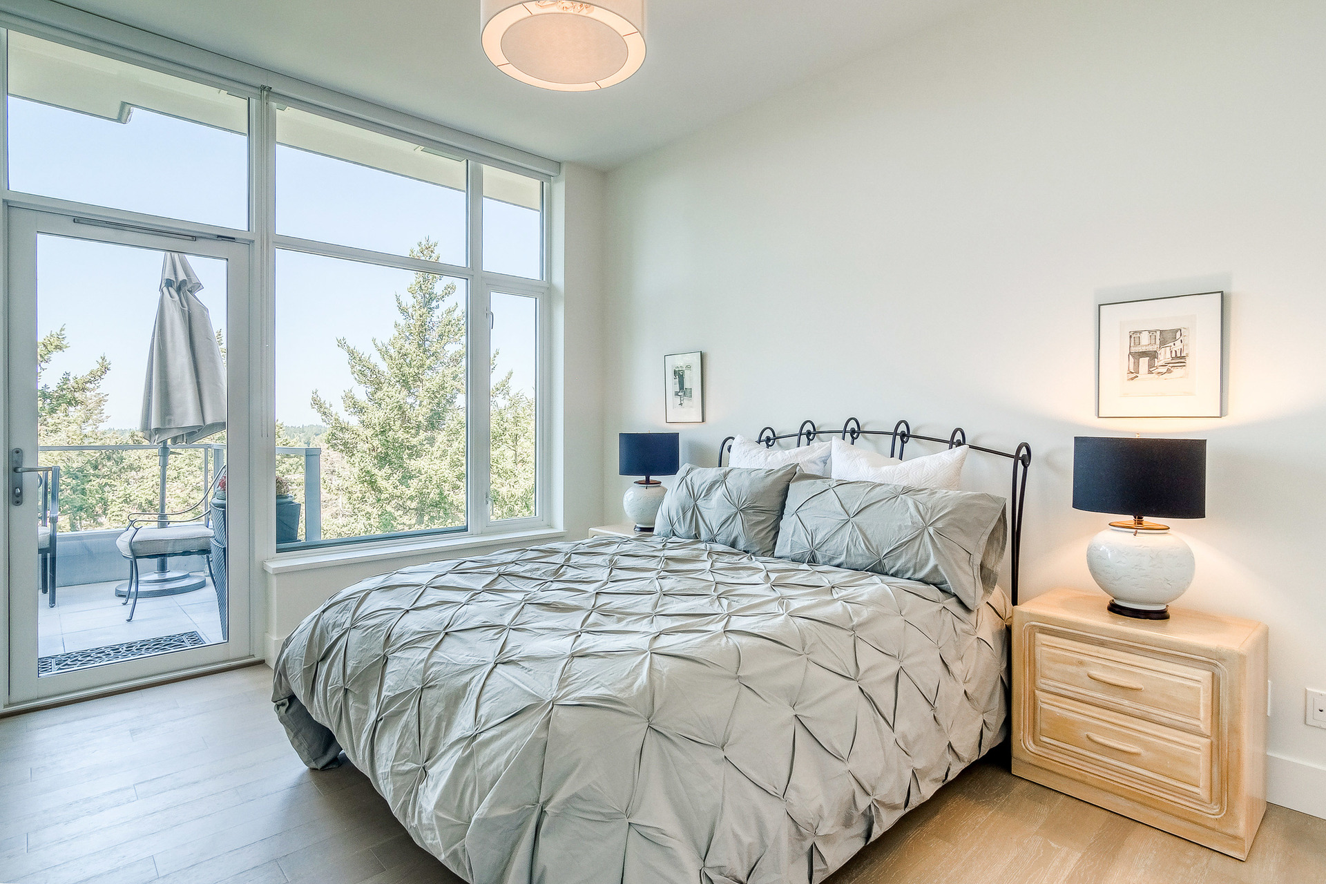 Master Bedroom at 1104 - 1501 Vidal Street, White Rock, South Surrey White Rock
