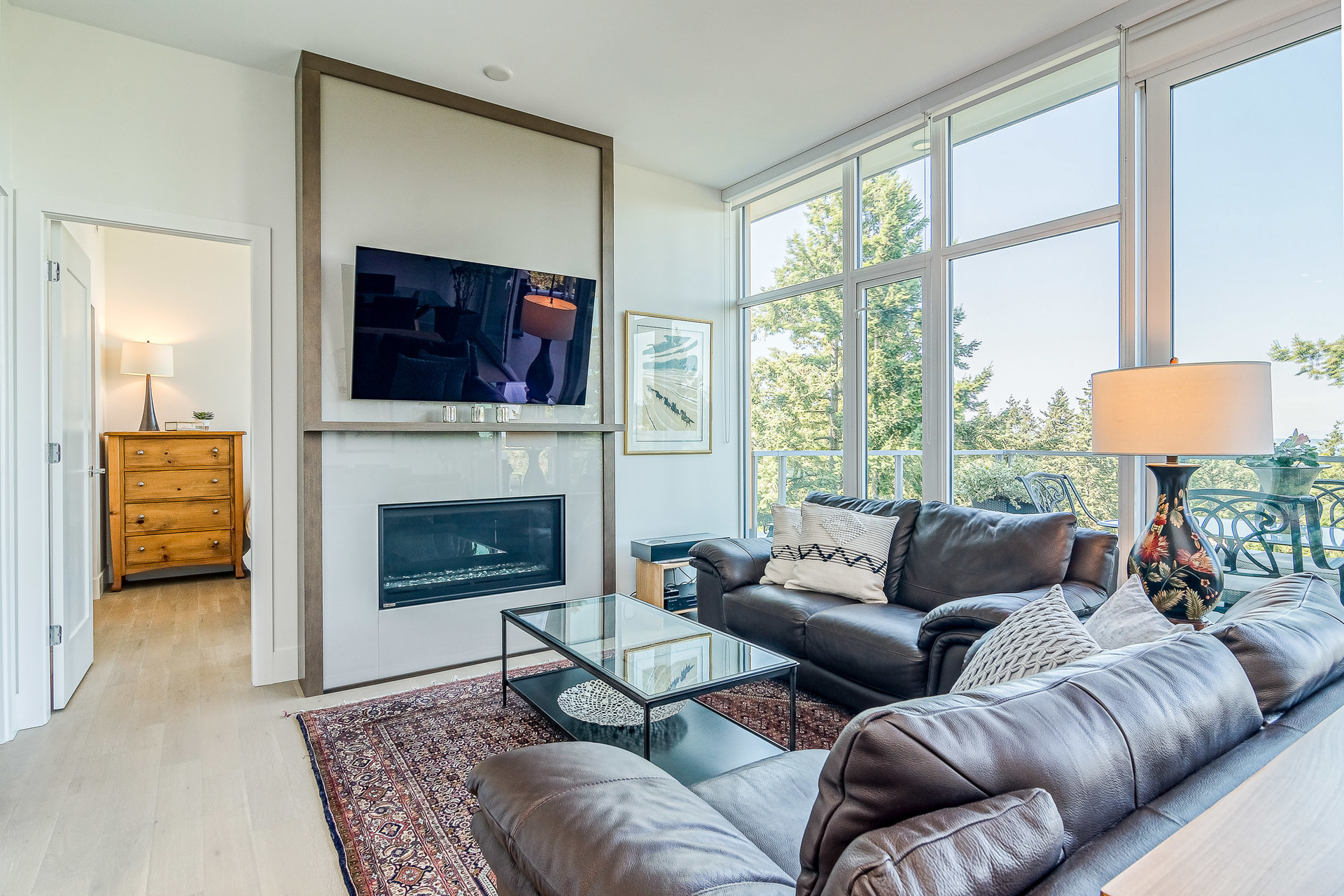 Living Room  at 1104 - 1501 Vidal Street, White Rock, South Surrey White Rock